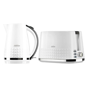 31248 - Sunbeam Diamond Toaster and Kettle Combo