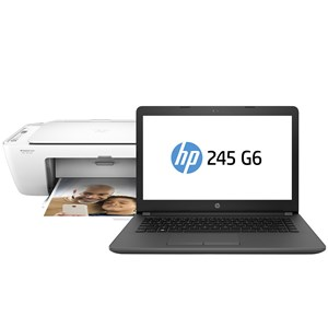 "31308 - HP 14"" AMD E2 Laptop w/Built-In DVD Writer & HP WiFi Printer"