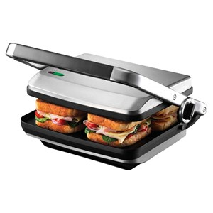 31344 - Sunbeam Cafe 4 Slice Sandwich Maker & Press