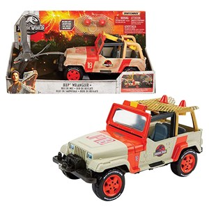31348 - Matchbox Jurassic World Jeep Wrangler with Net