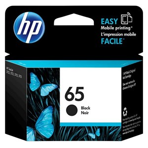 31352 - HP Ink Cartridge 65 Black