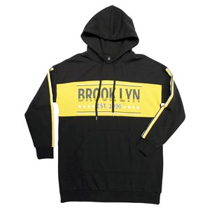 31365 - Brooklyn Plus Long Line Hoodie
