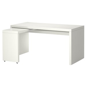 31438 - Ikea Malm Desk with Pull-out Panel