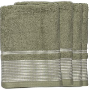31558 - Domino Bath Towels 4 Pack