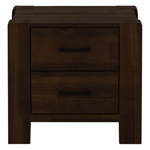 31613 - Larry 2 Drawer Bedside Table
