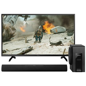 "31710 - Panasonic 40"" Full HD  TV + Panasonic Bluetooth Soundbar & Subwoofer"