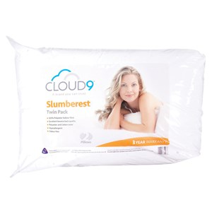 31856 - Cloud 9 Slumberest 2pk Pillow