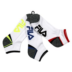 Fila 3 Pair Cushion Foot Socks