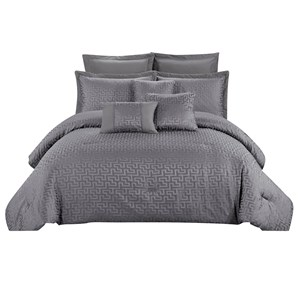 31904 - Winston 8 Piece Comforter Set (Queen)