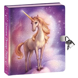 32001 - Unicorn Dreams Invisible Ink PK Lockable Diary