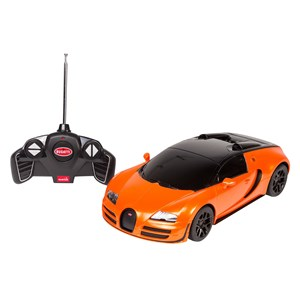 32008 - R/C Rastar 1:18 Orange Bugatti Veyron