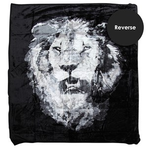 32011 - Lion Head Mink Blanket Queen 2.4kg