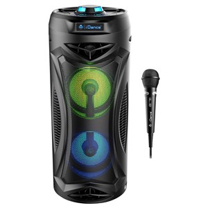 32101 - iDance Typhoon Bluetooth Portable speaker with 2 built-in woofers and mic