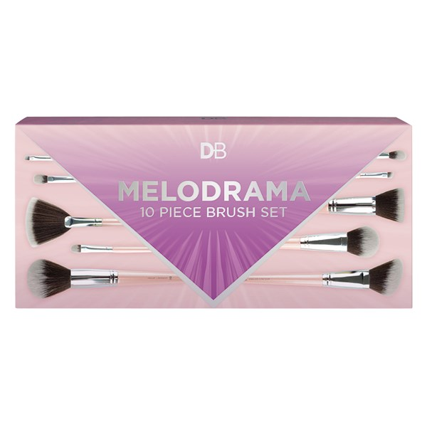 DB Melodrama 10 Piece Brush Kit