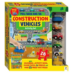 Pull Back and Go Vehicles - Construction Kit