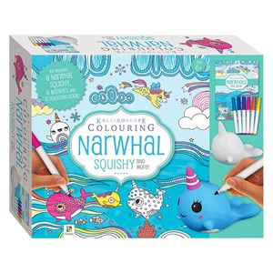 32132 - Kaleidoscope Colouring - Narwhal Squishy