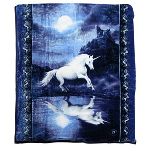 32163 - Moonlight Unicorn Mink Blanket