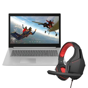 "32168 - Lenovo Huge 17.3"" Screen Intel i3 8th Gen Laptop with built-in DVD writer + PIRANHA Gaming headset"