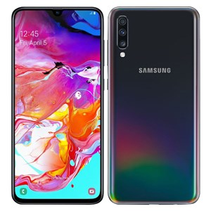 32173 - Samsung Galaxy A70 (2019) Smartphone with case + protector