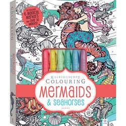 Kaleidoscope Colouring Kit Mermaids & Seahorses