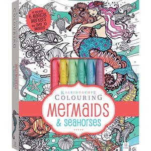 32242 - Kaleidoscope Colouring Kit Mermaids & Seahorses