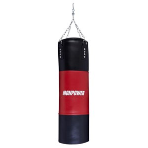 32273 - Iron Power Adjustable Boxing Bag & Gloves