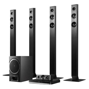 32341 - Panasonic 5.1 Ch Home Theatre System with Blu Ray/DVD Player- Bluetooth enabled