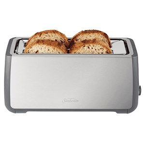 32488 - Sunbeam 4 Slice Long Slot Toaster