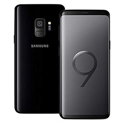 Samsung Galaxy S9 Smartphone w/case and protector