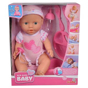 32807 - New Born Baby Care Doll 30cm