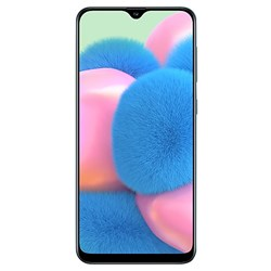 Samsung Galaxy A30S Smartphone with case and screen protector