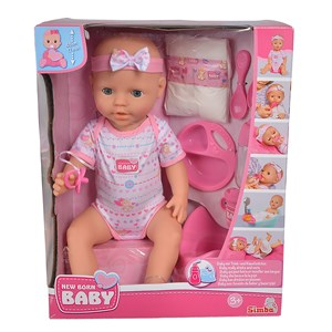 32885 - New Born Baby Care Doll 43cm