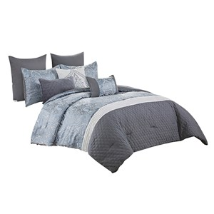 32937 - Cadence 8 Piece Comforter Set (Super King)
