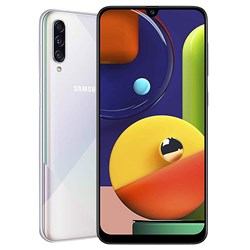 Samsung Galaxy A70S with case and screen protector