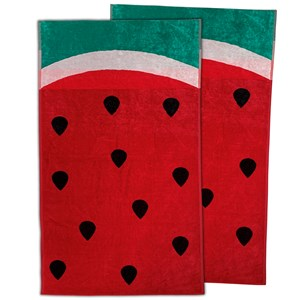 33011 - 2pk Watermelon Beach Towels