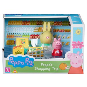 33019 - Peppa Pig Kitchen Shopping Asst