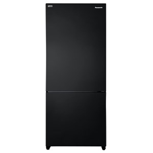 33066 - Panasonic 407L Bottom Mount Refrigerator Black
