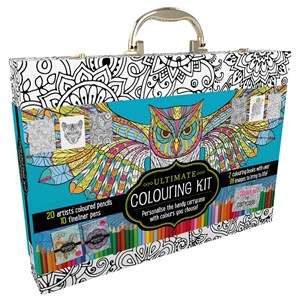 33207 - Ultimate Colouring Carry Case Mandalas and Animals
