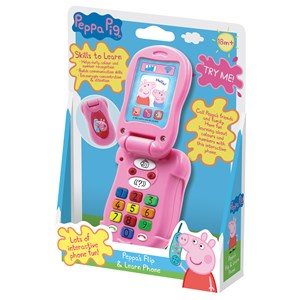 33227 - Peppa Pig Flip And Learn Phone