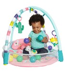 4-in-1 Rounds of Fun™ Activity Gym & Ball Pit - Pink - pink