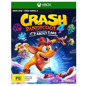 33385 - XBOX ONE Crash Bandicoot 4: It's About Time