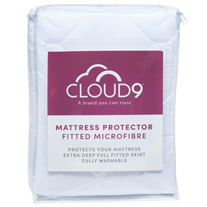 33618 - Cloud 9 Fitted Microfibre Mattress Protector